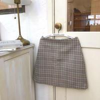 spring retro high waist skirt
