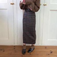 plaid tight skirt