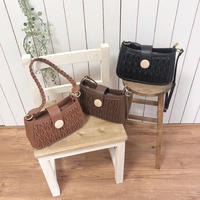 2 way wood shoulder bag