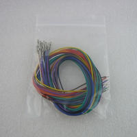 AWG28ケーブルセット  PINソケット端子付き ( AWG28 CABLE SET with PIN SOCKET )