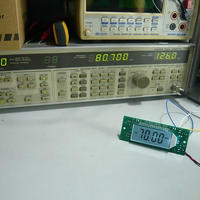 LCD TYPE  AM / FM  周波数表示器 UNIT(実装完成品)