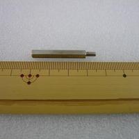 金属六角スペーサー M3×30+6  オス-メス  10pcs/set