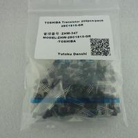 東芝製トランジスタ 2SC1815-GR  200pcs/pack