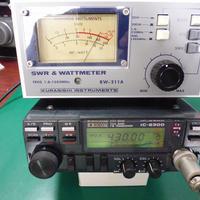 中古整備済み ICOM  IC-2300 MIC付 ( ZHW-ETC-277 )