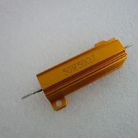 ダミ-ロ-ド使用可能 メタルクラッド抵抗 50Ω-50W ( Metal Clad Resistors 50Ω-50W )