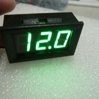 DIGITAL  DC  PANEL METER  GREEN表示