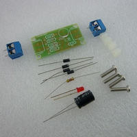 DC12V-1A ブリッジ整流回路PCBキット ( DC12V-1A BRIDGE  RECTIFIER  CIRCUIT  BOARD  KIT )