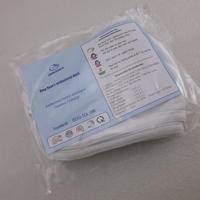 洗える 布マスク 白色 5枚/袋  入り ( ZHW-SNY-004 )