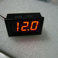 DIGITAL  DC PANEL METER  RED表示