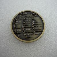 モールスコードメダル