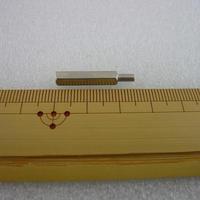 金属六角スペーサー M3×20 +6  オス-メス  10pcs/set