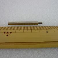 金属六角スペーサー M3×40+6  オス-メス  10pcs/set