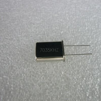 7035KHz HC-49U Type 水晶振動子   (X'TAL 7035KHz HC-49U TYPE)