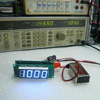 ラジオ自作派向け AM / FM 周波数表示器UNIT(実装完成品)(SELECT付世界対応)