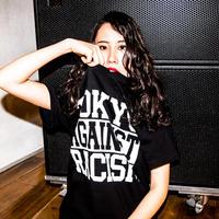 T-shirt: TOKYO AGAINST RACISM 2018 (black)