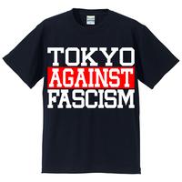 Tee: TOKYO AGAINST FASCISM (ネイビー)
