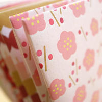 "Small Envelope ""Japonica Motif"" 1"