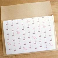 Music Bird Letter