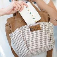 【在庫限り限定価格】手織布の2WAYポケットバッグ