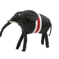 ジュート アニマル(大きい象)|45038