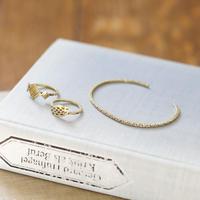 【ネコポス注文(4点まで)】真鍮のリング