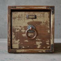 ワン- ドロワーボックス a(ivory medium brown)