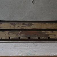 ウッドボックス L(ivory ash brown)