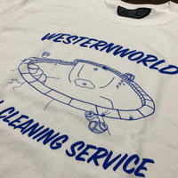 Westernworld clothing Pool Service Tee
