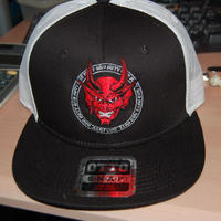 151 Devil 刺繍mesh cap
