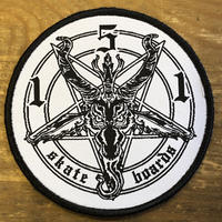 151 SKATEBOARDS PENTAGRAM PATCH