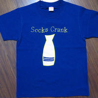 Crank socks T-shirts ロイヤルブルー