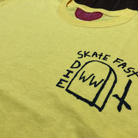 Western  World collecting Skate Fast Die  Tee
