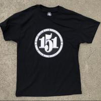 151 Numbers Tee - Black
