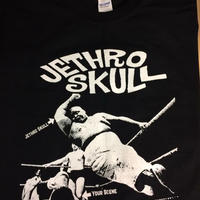 Jethro skull.Elbow drop Tee