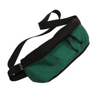 Hip bag  [Black x Kelly]
