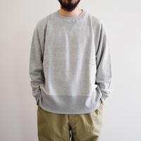 bunt / LOOP WHEEL CREW NECK SWEAT SHIRTS  / col.グレー / Men's