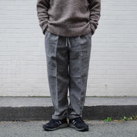 ENDS and MEANS / W/L Relax Fit Trousers / col.ブラック