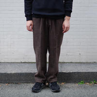 ENDS and MEANS / Wool Relax Fit Trousers / col.ブラウン