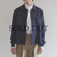 PULETTE / Snap Button Shirt / NAVY