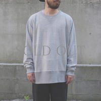 bunt / LOOP WHEEL CREW NECK SWEAT SHIRTS  / col.グレー / Men's