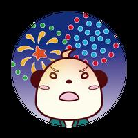 缶バッジ(花火)