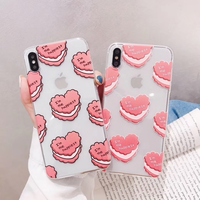 iPhoneケース  # heartcake #ソフトケース #クリアケース