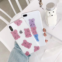 iPhoneケース #candy teddy