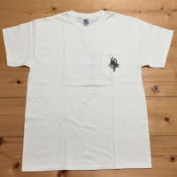 "MOZYSKEY MULTI PRINT TEE ""WHITE"""