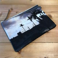 ZoMBitch 'TROPICAL MONOCHROME' clutch bag