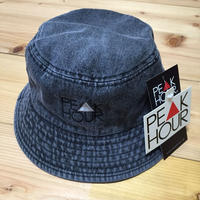 PEAK▲HOUR 'PEAK HOUR' Denim BUCKET-HAT