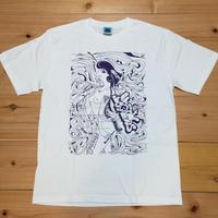 """""""シゼントモッテル"""" with AMES Spot Item T-shirt"""