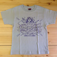 "NEW ""モッテルキッズ"" T-shirt grey"