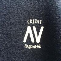 """CREDIT× AA """"CREW NECK"""" SWEAT・Navy/ 撥水加工"""