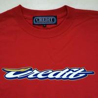 "CREDIT ""GRAND PRIX"" T-SHIRTS・Red"